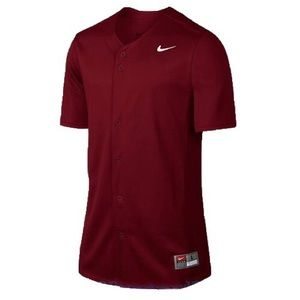 Nike Full-Button Vapor Men's Baseball Jersey